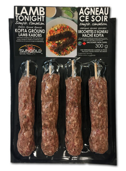 SunGold Lamb Kofta in Packaging
