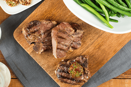 How to BBQ lamb (with Mediterranean Compound Butter)