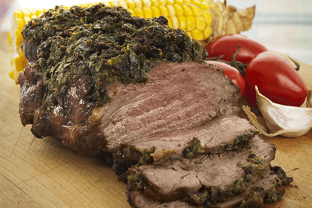 Peppercorn & Fresh Herb Crusted Sirloin