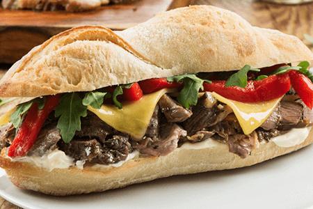 Leg of Lamb Sandwich