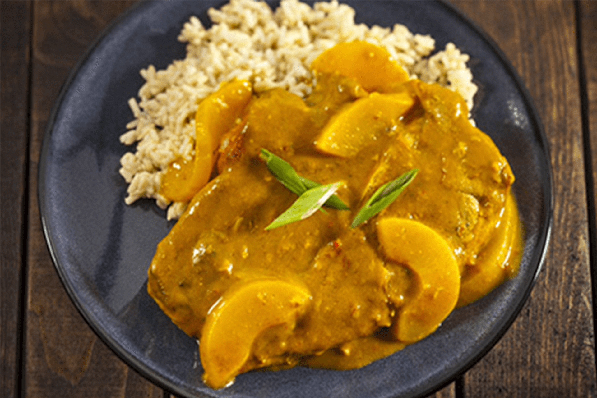Curry Lamb Shoulder Chops