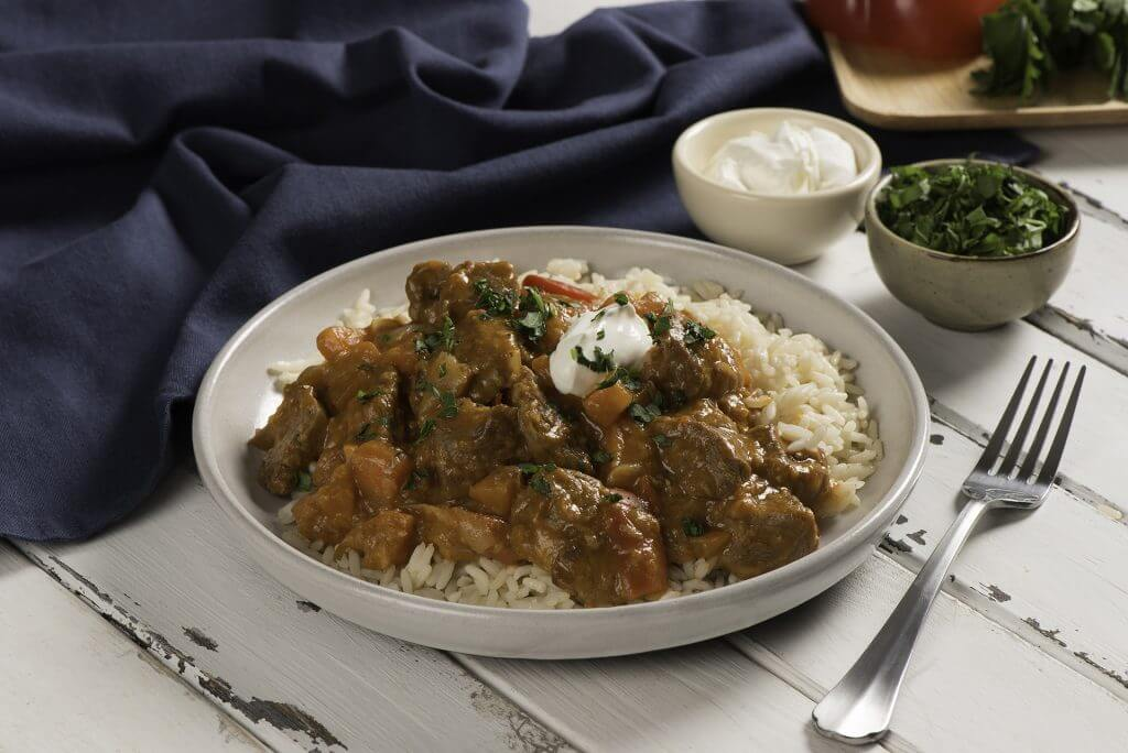 Slow Cooker Lamb Goulash