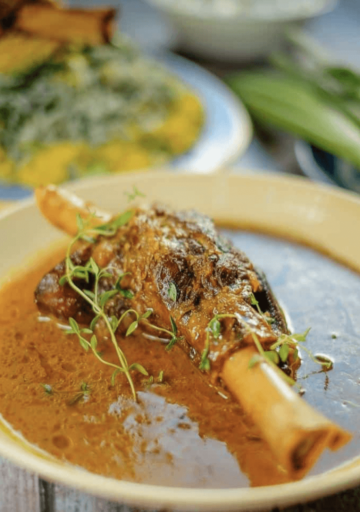 Persian Braised Lamb Shanks